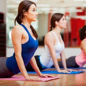 yoga fitness sportschool